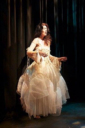 Caitríona O'Leary - Caitríona O'Leary in performance