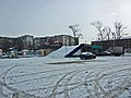 Irkutsk. February 2013. Barguzin, regional court, bus stop Volga, Diagnostic Center. - panoramio (2).jpg