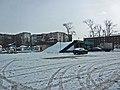 Irkutsk. February 2013. Barguzin, regional court, bus stop Volga, Diagnostic Center. - panoramio (2).jpg