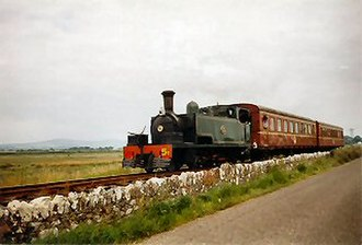 Tralee and Dingle Light Railway - Restored No. T5 approaching Blennerville