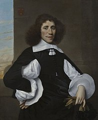 Portret van Abraham de Riemer (1628-1683)