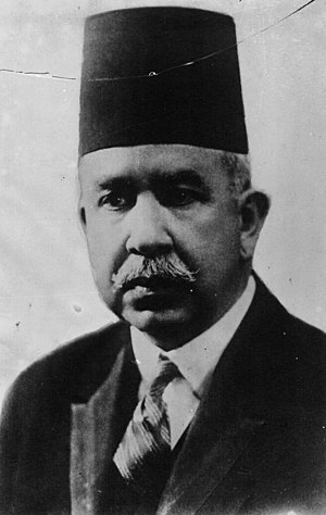 Ismail Sedky - Ismail Sedky as Prime Minister in 1932