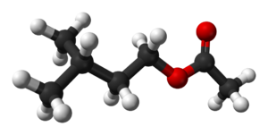 Isoamyl acetate - Image: Isoamyl acetate 3D balls
