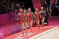 Israel Rhythmic gymnastics at the 2012 Summer Olympics.jpg