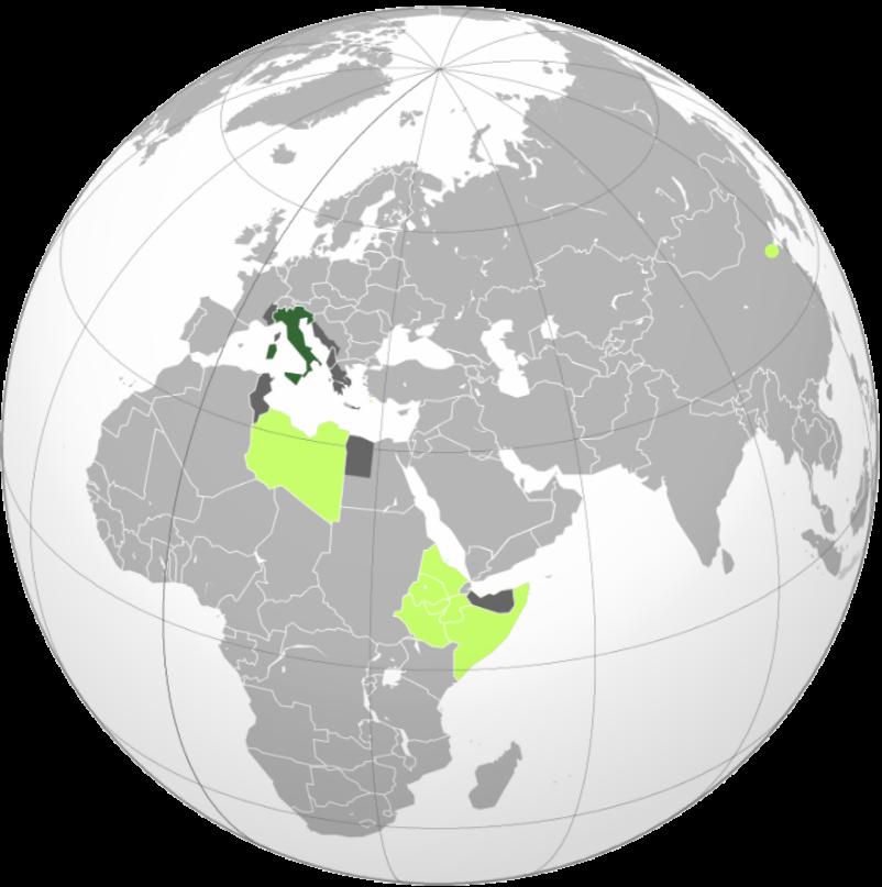 Italy's colonial empire