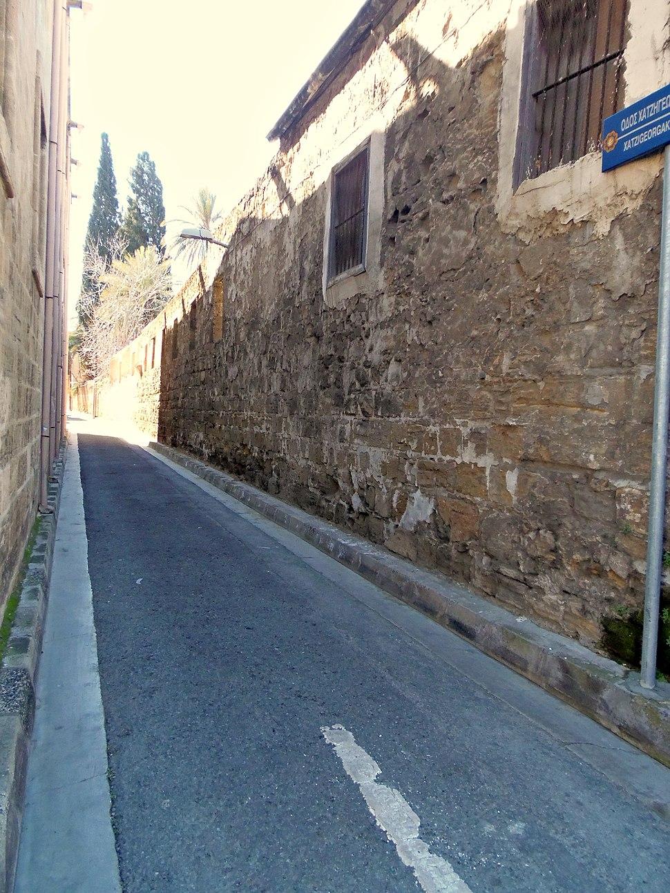 Izgled-Narrow street, Nicosia