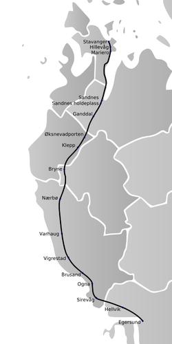 nsb jærbanen