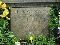Jón Sveinsson, Melaten Grabstein.jpg