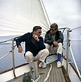 JFKWHP-KN-C23203-President John F Kennedy and Peter Lawford Aboard the Yacht Manitou.jpg