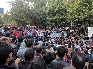 JMI students and locals protesting against CAA NRC.jpg