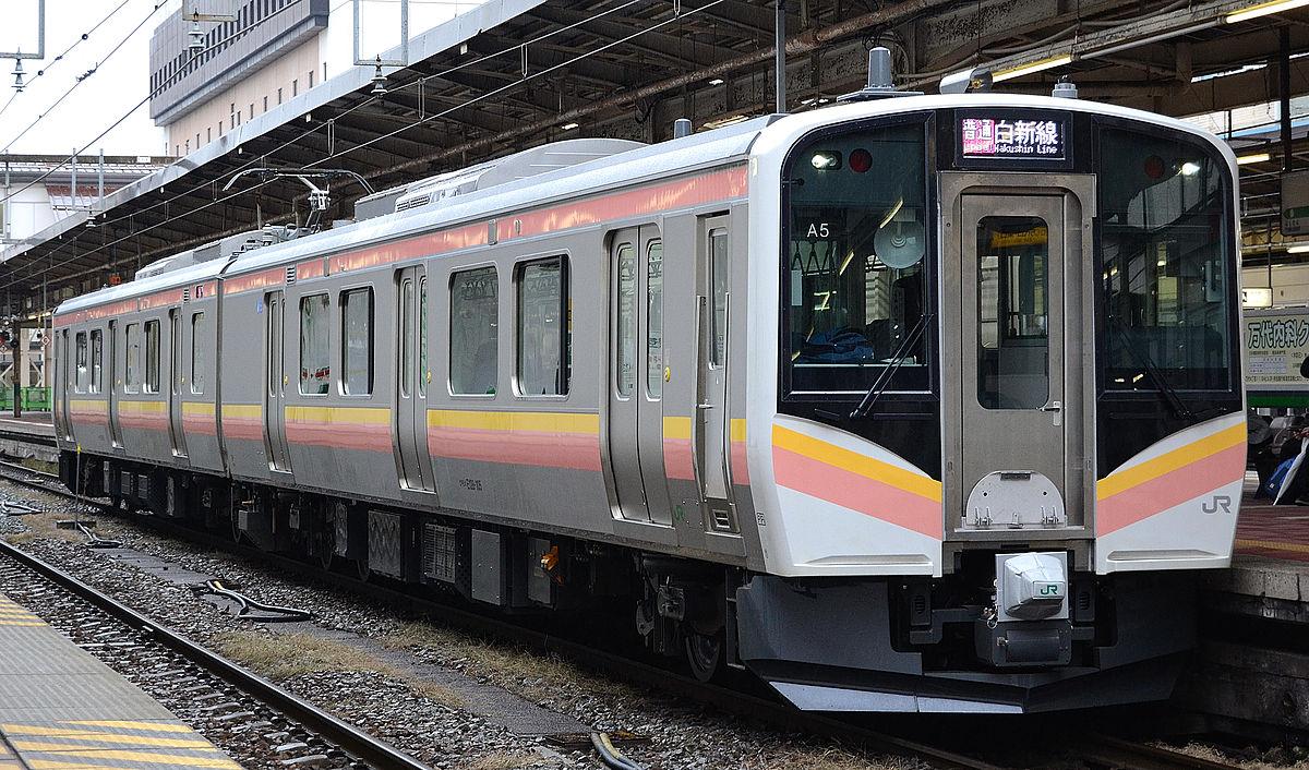 E129系100番台A5編成 (新潟駅)