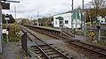 JR Soya-Main-Line Ranru Station Premises railroad crossing.jpg