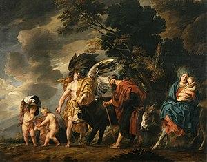Flight of the Holy Family into Egypt