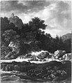 Jacob van Ruisdael - Nordische Gebirgslandschaft mit Wasserfall - 390 - Bavarian State Painting Collections.jpg