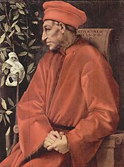 Cosimo de' Medici, who managed to build up the international financial empire and was one of the first Medici bankers