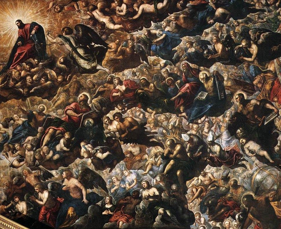 Jacopo Tintoretto - Paradise (detail) - WGA22639