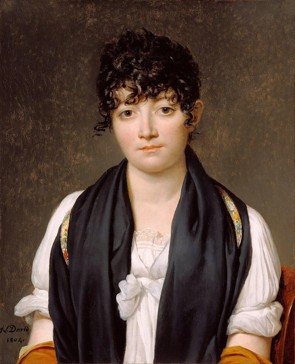 Jacques-Louis David - Suzanne Le Peletier de Saint-Fargeau - Google Art Project