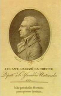 Jacques Antoine Creuzé-Latouche French economist and politician