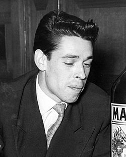 Jacques Brel 13 januari 1955.