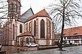 Jakobikirchhof, Jakobikirche von Osten Göttingen 20180119 002.jpg