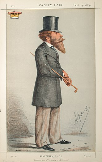 Vanity Fair (UK magazine) - Image: James Hamilton, Vanity Fair, 1869 09 25