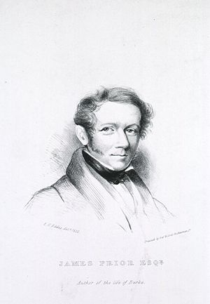 James Prior (surgeon) - James Prior, from 1832 drawing