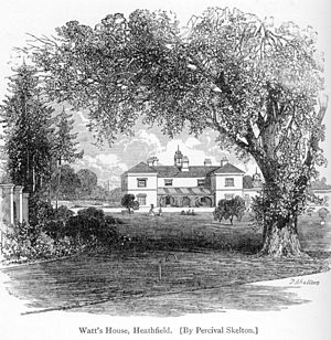 "English: James Watt's house ""Heathfield&q..."