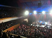 James performing in the Royal Concert Hall, Glasgow.jpeg