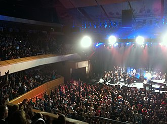 Glasgow Royal Concert Hall - James performing in the Royal Concert Hall in 2011