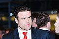 Jamie Roberts. Wales Grand Slam Celebration, Senedd 19 March 2012.jpg