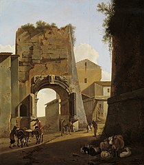 The Titus Arch in Rome