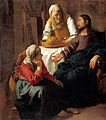 Jan Vermeer (attr.) - Christ in the House of Martha and Mary - National Gallery of Scotland.jpg