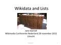 Jane Darnell WCN 2015 Wikidata and Lists 28-nov-15.pdf