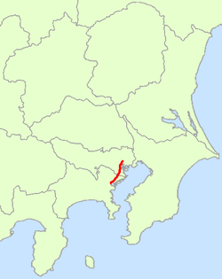 Japan National Route 15 Map.png
