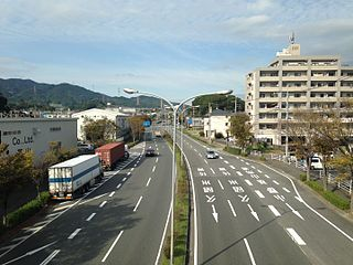 Kiyama, Saga Town in Kyushu, Japan