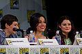 Jared Gilmore, Lana Parrilla & Emilie de Ravin (14775946038).jpg