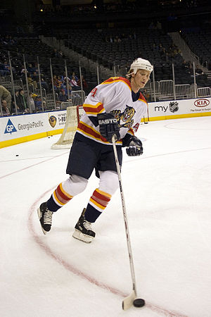 Florida Panthers - The Panthers drafted Jay Bouwmeester third overall in the 2002 NHL Entry Draft.