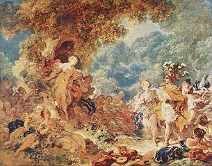 Renaud dans les jardins d'Armide