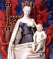 Jean Fouquet - Virgin and Child Surrounded by Angels - WGA8039.jpg