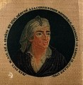 Jean Paul Marat. Colour stipple engraving (?) on silk after Wellcome V0003836.jpg