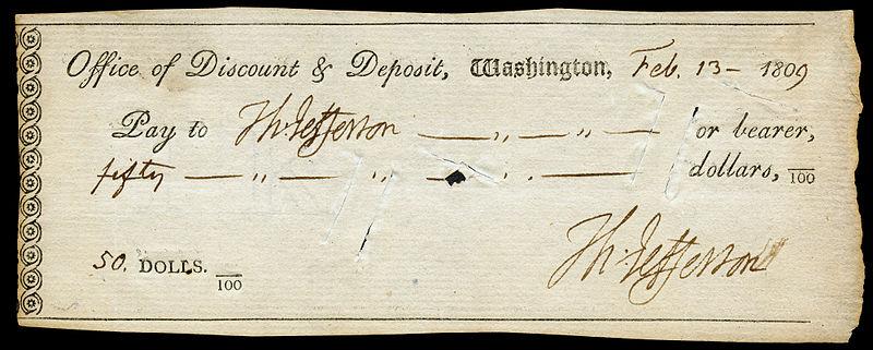 Jefferson, Thomas (signature on check).jpg