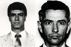 1986 FBI Miami shootout - Jerry Dove (left) and Ben Grogan, the FBI special agents killed during the shootout