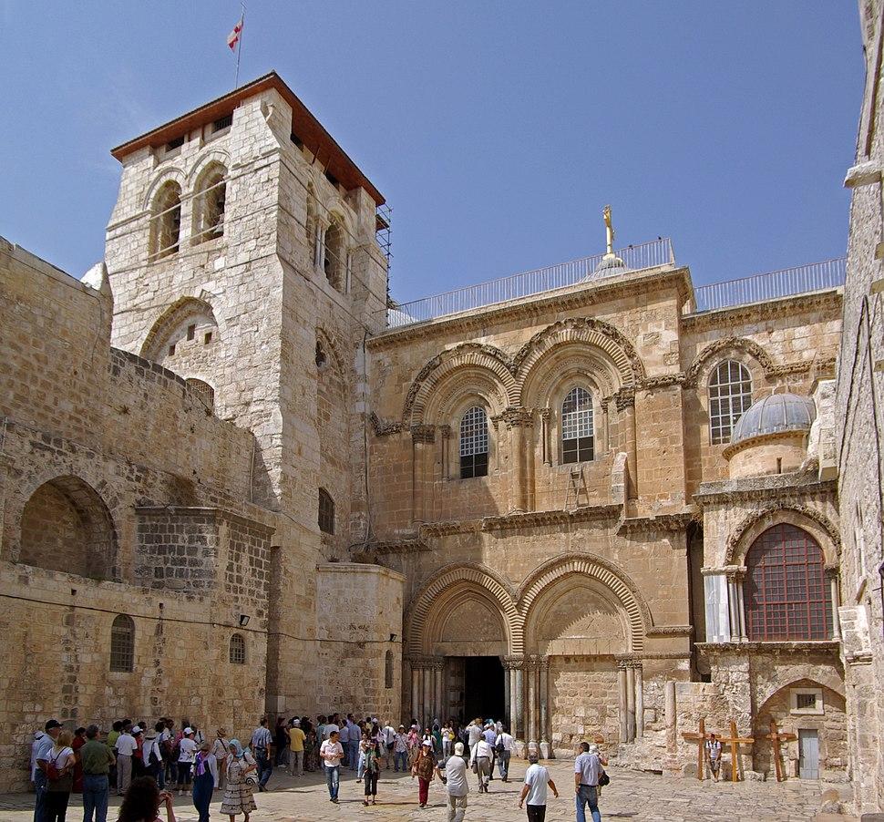 Jerusalem Holy Sepulchre BW 24