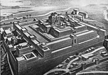 Ricostruzione grafica del primo tempio