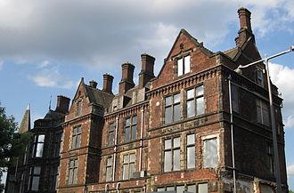Jessop Hospital - The Edwardian wing just before demolition in 2013