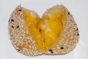 Jian dui - Image: Jiandui with Fillings and Black & White Sesame
