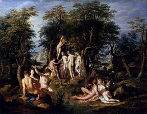 1615 in art - Wtewael - The Judgement of Paris