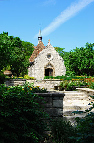 English: St. Joan of Arc Chapel on the Marquet...