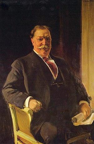 Taft Museum of Art - Portrait of Mr. Taft, by Joaquin Sorolla (1909)