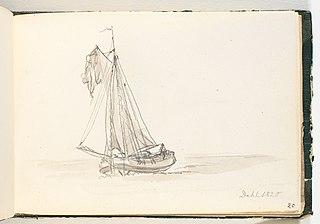 Et stort sejlskib i smult vande